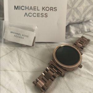c15dec814534 Michael Kors Accessories - Sofie Pavé Sable-Tone Smartwatch